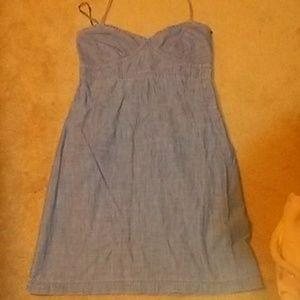 Gap denim basic dress